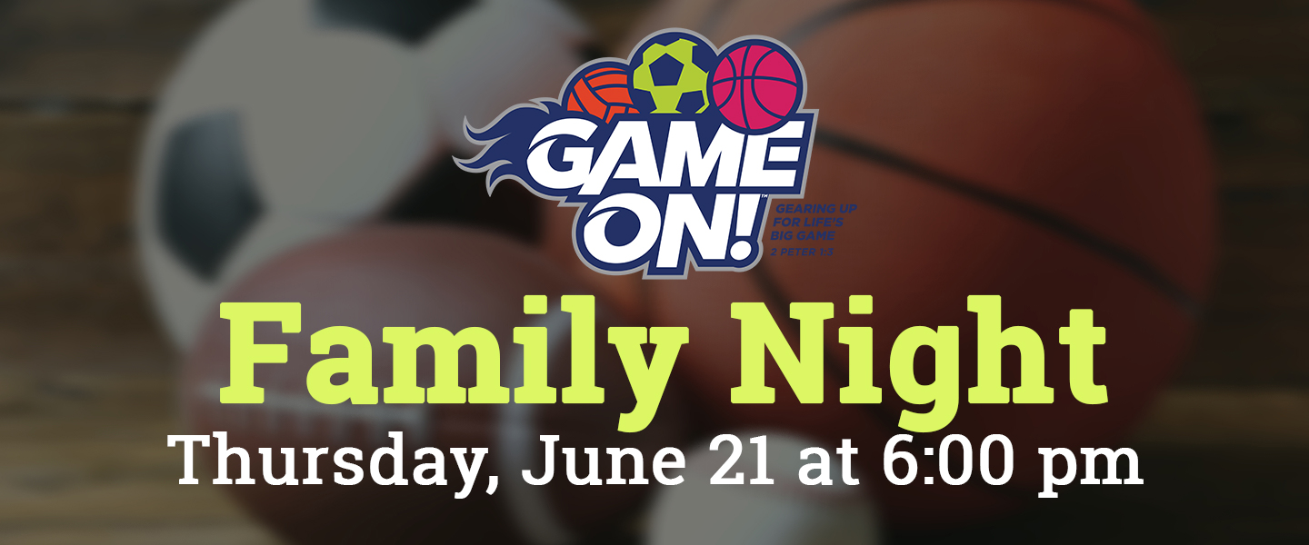 Game On Family Night