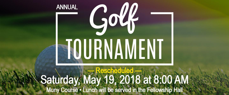 Golf Rescheduled